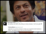 Shahrukh Khan Hilarious Replies In His Twitter Q And A Session