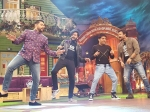 Kapil Sharma Show Ritiesh Aftab Vivek Great Gran Masti On The Sets Pic
