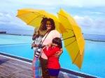 Pic Talk Pawan Kalyan Kids Holidaying Maldives