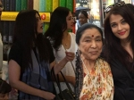 Aishwarya Rai Spotted Aaradhya Bachchan Asha Bhosle New York Picture