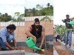 Pics Prabhas Rajamouli Rana Baahubali Team Participatin Haritha Haram