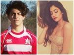 Shahrukh Khan Son Aryan Khan Sridevi Daughter Jhanvi Kapoor School