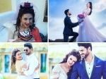 Yhm Divyanka Tripathi Bachelorette Party Divek Photoshoot Pictures