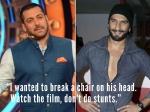 I Wanted To Break A Chair On His Head Say Salman Khan On Ranveer Singh