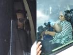 Iulia Vantur Arpita Khan Visit Salman Khans Residence After Acquittal