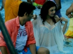 Jiiva Caught Staring Kajal Aggarwal Kavalai Vendam Sets