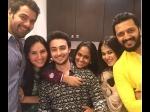 Shabbir Ahluwalia Kanchi Kaul Eid Salman Khan Sis Arpita Khan Pics