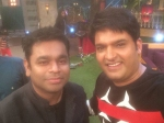 Music Maestro A R Rahman On The Sets Of Kapil Sharma Show Pics