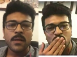 Video Ram Charan Clarifies Everything At Once On Facebook Live