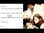 Shahrukh Khan And Alia Bhatt Exchange Letters For Dear Zindagi