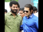 Salman Khan To Star In Prabhudeva S Next Directorial