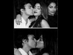 Sridevi Daughter Jhanvi Kapoor Kissing Boyfriend Shikhar Pahariya