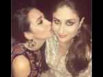 Karisma Kapoor Kissing Kareena Kapoor Latest Picture