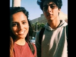 Aryan Khan Spotted With Girl New Friend California University New Pic