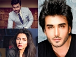 Pakistani Celebrities Who Are Trying To Win Bollywood Fawad Mahira