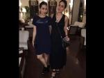 Karisma Kapoor New Pictures With Kareena Kapoor Pampering In Pregnancy