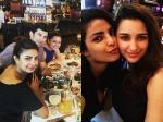 Sister Bonding Priyanka Chopra And Parineeti Chopra Meet Up In Houston