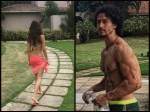 Tiger Shroff Disha Patani Spotted On Vacation Latest Pictures