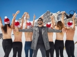 Ranveer Singh With Topless Young Women In Switzerland