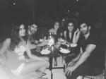 Nargis Fakhri Meets Parineeti Chopra And Varun Dhawan For Dinner In Us