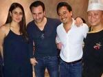 Saif Ali Khan Pampering Pregnant Wife Kareena Kapoor Romantic Date