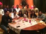 Aishwarya Rai Abhishek Bachchan With Friends In Dubai New Picture