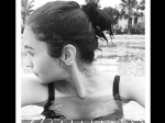 Alia Bhatt Takes A Selfie In The Swimming Pool