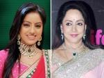 Deepika Singh Fan Girl Moment With Idol Hema Malini