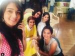 Swara Ragini Simar Gopi Others Together Rashmi Sharma Pink Promotion
