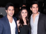 Alia Bhatt Told Varun Dhawan About Break Up With Sidharth Malhotra
