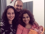 Kadhal Sandhya Welcomes A Baby Girl