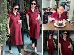 Pregnant Kareena Kapoor Can Give Model Run Money Red Kurta Pictures