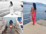 Pictures Of Sarah Jane Dias Holidaying In Croatia