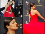 Priyanka Chopra Pictures Emmy Awards Spotted On Red Carpet In Hot Look