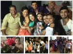 Divyanka Tripathi Surprise Yhm Ruhanika Dhawan Pre Birthday Party Pics