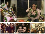 Sanaya Irani Celebrates Birthday Hubby Mohit Friends Ridhi Barun Party