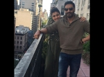 Ajay Devgn Kajol Spotted Together New York Look Lovely