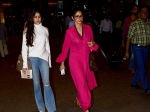 Jhanvi Kapoor Spotted With Sridevi At Aiport Without Make Up Pics