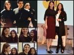 Aishwarya Rai Bachchan Anushka Sharma At Mami Film Festival New Pics