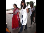 Aishwarya Rai Bachchan Spotted At Mumbai Ariport Latest Pictures