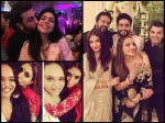 Celebs At Aishwarya Rai Abhishek Bachchan Diwali Party Inside Pictures