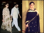 Kareena Kapoor Khan New Pictures Baby Bump Spotted With Saif Airport