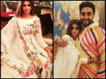 Shweta Bachchan New Pictures With Abhishek Bachchan During Dussehra