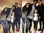 Shahrukh Khan Bumped Into Sushmita Sen Airport Carried Her Bags