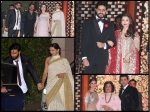 Ambani Wedding Bash Pictures Deepika Padukone Ranveer Srk Aishwarya Rai