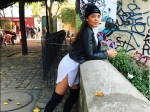 Amy Jackson Looks Smoking Hot On The Streets Of Paris