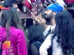 Bigg Boss 10 See Photos Manu Punches Omswami After He Touches Monalisa