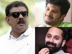 Dulquer Salmaan And Fahadh Faasil With Priyadarshan
