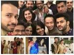 Divyanka Tripathi Smriti Sriti Tv Celebs Ekta Kapoor Diwali Bash Pics