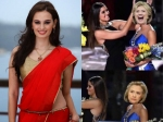Evelyn Sharma Trolls Trump And Clinton In True Miss Universe Style